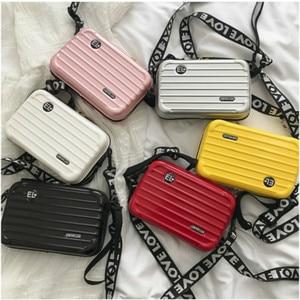 Women Mini Suitcase Shape Cros