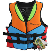 Swim-Life-Vest Swimming-Aid Teenager-Buoyancy Neoprene Adults Children Youth for Young