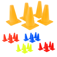 5pcs High Visibility Safety Cone For Sports Training Soccer Agility Skating