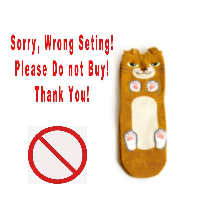 Please Do Not Buy Wrong Setting 2016 Funny  Cat  Women Socks Winter