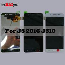 5.2'' Adjust Brightness LCD For Samsung Galaxy 5 2016 J510 J510FN J510F J510M J510H LCD Display Touch Screen Digitizer(China)