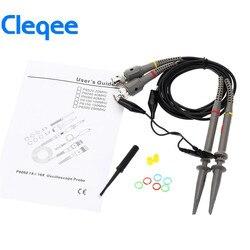 Cleqee 2PCS P6060 Oszilloskop Sonde 60MHz Clips Für Tektronix oszilloskop HP X1/X10 DC-60MHz
