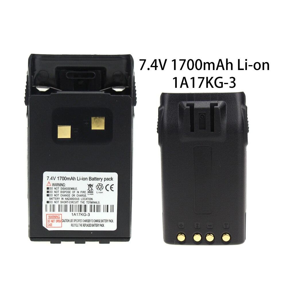 Где купить 7,4 V 1700mAh литий-ионный аккумулятор с зажимом для WouXun Walkie Talkie KG-UVD1P KG-UV6D КГ-699 КГ-689 двухстороннее радио