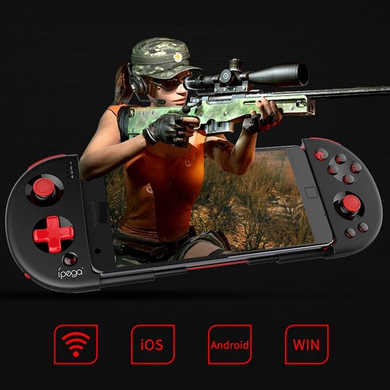 Ipega Pg-9087S Inteligente Tubro Extensível Sem Fio Bluetooth Gamepad Game Controller Gamepad Joystick Game Console Para Smart Tv/Pho