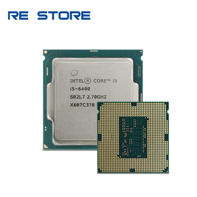 Intel Core i5 6400 2.7 GHz dört çekirdekli dört iplik CPU İşlemci 6M 65W LGA 1151