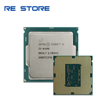 Używane Intel Core i5 6400 2.7 GHz Quad Core Quad nici procesor CPU 6M 65W LGA 1151