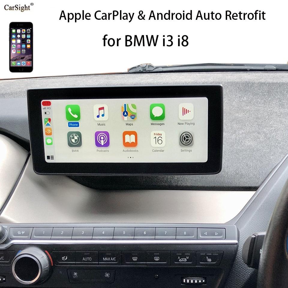 Android Auto Und Drahtlose Carplay Retrofit Für Bmw I3 I8 Verbinden Sie Ihr Iphone Mit Apple Carplay Tv Receiver Für Auto Aliexpress