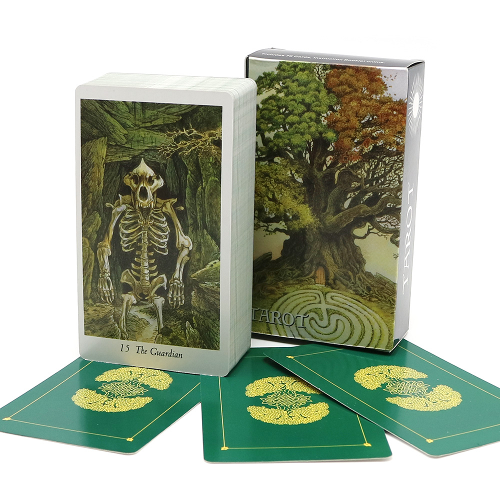 2019  Wildwood Tarot Cards Deck Full English Mysterious Nature Animal Divination Fate Cards Game Board Game