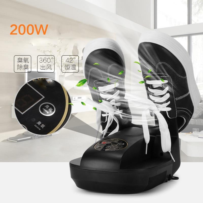 Intelligent Remote Control Shoe Device Drying Machine Bake Deodorant Dryer Sterilization Folding Portable Shoes Dryer