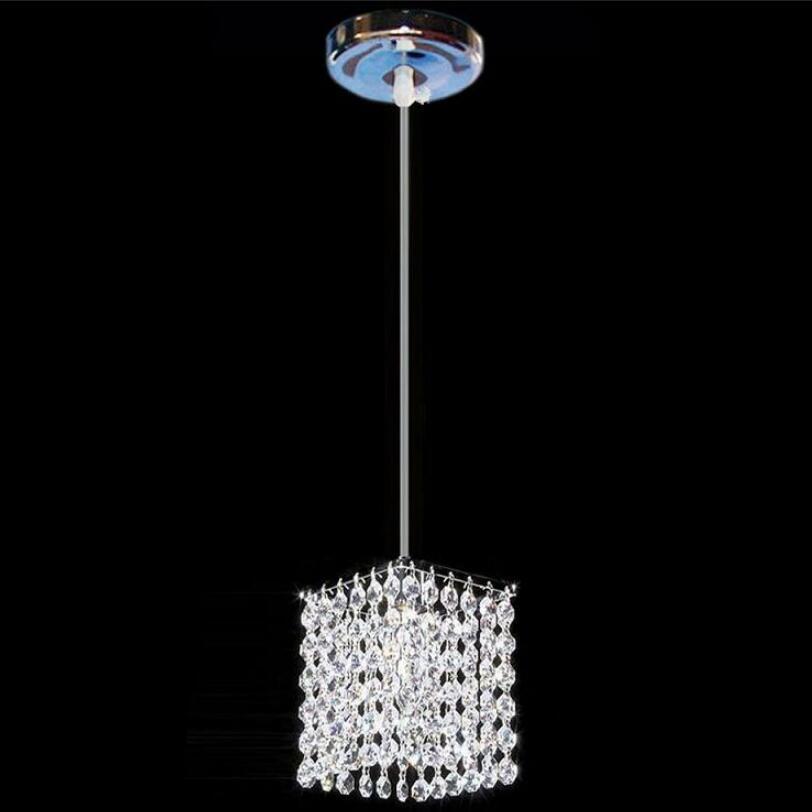 Современный простой железный Хрустальная люстра светодиодный светильник высокое качество светодиодный освещение хрустальные люстры светодиодный E27 подвесные люстры/подвесной светильник