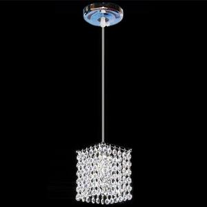 Image 2 - Modern simple iron crystal chandelier led lamp high quality LED lighting crystal chandeliers led E27 lustre pendant/droplight