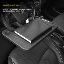 Car Laptop Stand Notebook Desk Steering Wheel Tray Table Food/drink Holder Car Multi-function Card Table Computer