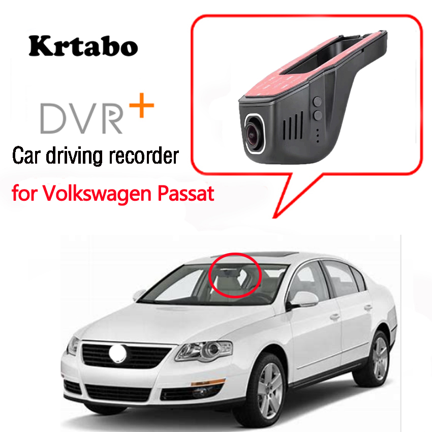 For Volkswagen Passat Car DVR Wifi Video Recorder Dash Cam Camera high quality Night vision full hd