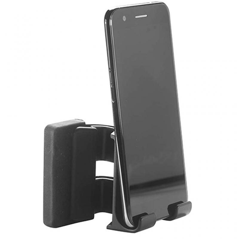 Portable Computer Laptop Screen Side Phone Holder Laptop Side Mount Bracket Phone Stand Holder For Iphone Tablets Notebooks
