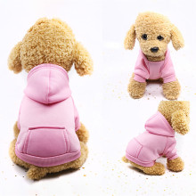 Полиэфирные кофты с капюшоном с карманом, Одежда для питомцев, теплая зимняя для домашней собаки, одежда, высокое качество