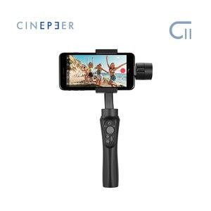 Image 2 - Goedkope Zhiyun Cinepeer C11 Gimbal Voor Smartphone Iphone/Samsung 3 Axis Handheld Stabilizer Vs Smooth Q2 4 Vlog pocket Moza Mini S