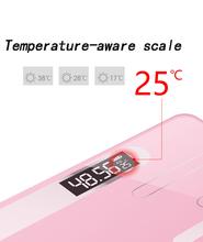 Podłoga w łazience szkło ciała inteligentne wagi elektroniczne USB ładowanie LCD wyświetlacz ciała ważenie domu cyfrowa waga do kontroli masy ciała waga tanie tanio 200 kg