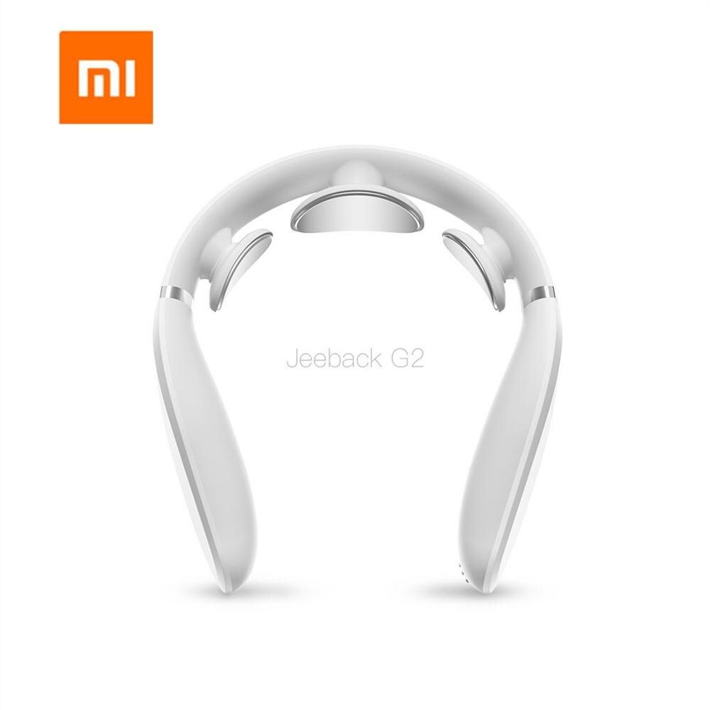 Xiaomi Zervikale Massager G2 ZEHN Puls Schützen den Hals Nur 190g Doppel Wirkung Heiße Kompresse L-Geformt Verschleiß arbeit Mit Mijia App