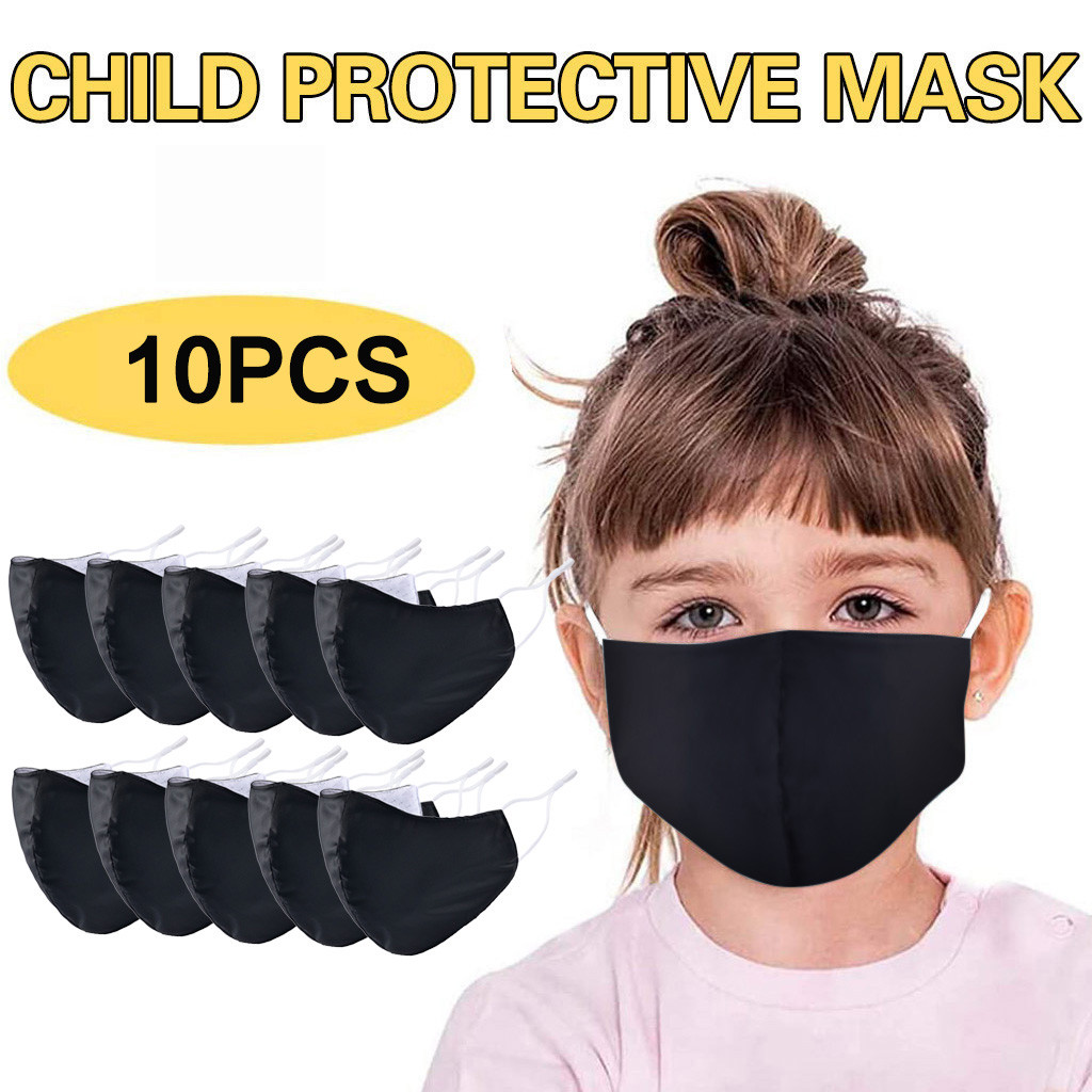 10PC Children Windbreak Seamless Outdoor Riding Quick-drying Dustproof Keep Mask Breathable Respirator Mascarillas Masque
