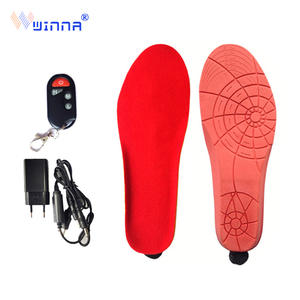 New-Heating-Insoles Battery-Powered Remote-Control Winter Large Women Wireless with