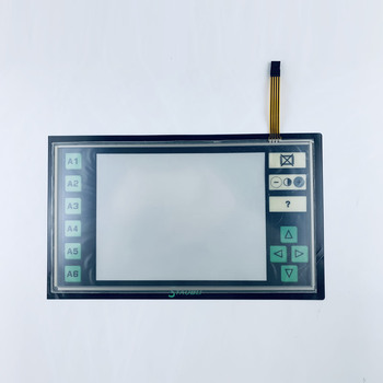 Staubli JC5 Touch Glass + Membrane Keypad film for Machine Operator Panel repair~do it yourself, Have in stock