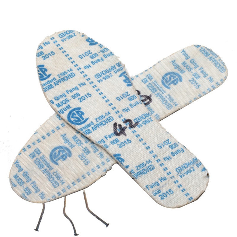 2019 Men And Women Safety Insole Anti-piercing Anti-strong Steel Insole Kevlar Wear-resistant Anti-iron Nail Tungsten Steel Sole