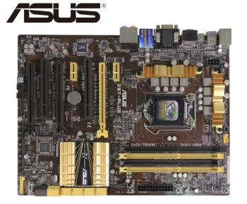 цена на ASUS Z87-PLUS desktop motherboard for intel  LGA 1150 DDR3 For i3 i5 i7 cpu 32GB SATA3 USB2.0 USB3.0 mainboard boards