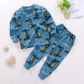 0-24M Baby Clothing Sets Autumn Baby boys Clothes Infant Cotton Girls Clothes 2pcs newborn baby Underwear Kids Clothes Set - M, 18M