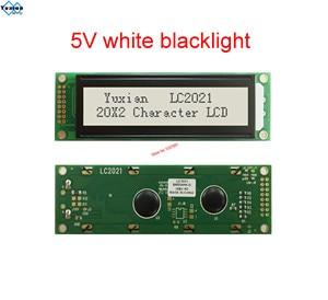 Image 3 - LCD ekran modülü 2002 20X2 mavi yeşil LC2021 yerine WH2002A AC202D LHD44780