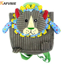 Aged 1-3Corduroy Toddler Backpacks Stress Reliever Design Mi