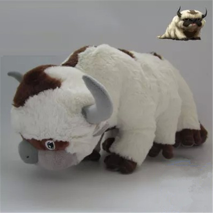 28-50cm New <font><b>AVATAR</b></font> <font><b>Last</b></font> <font><b>Airbender</b></font> APPA Stuffed Plush Doll Large Soft Toy 20 inch RARE peluche minion image