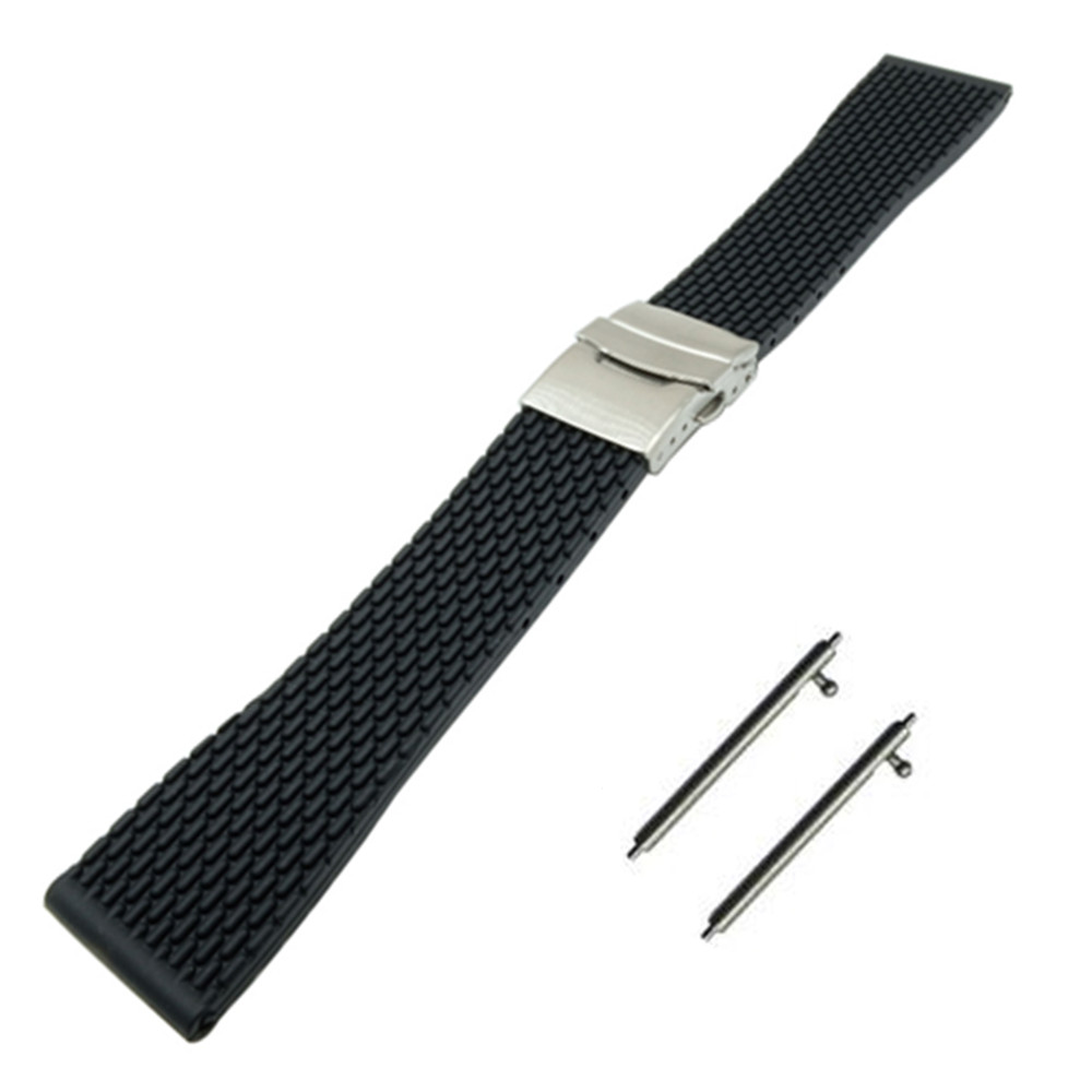 For CERTINA Curved Stainless Steel L316 Pins Spring Bars With Removal Installation Tool Leather Rubber Steel Strap Band Bracelet 18-24mm