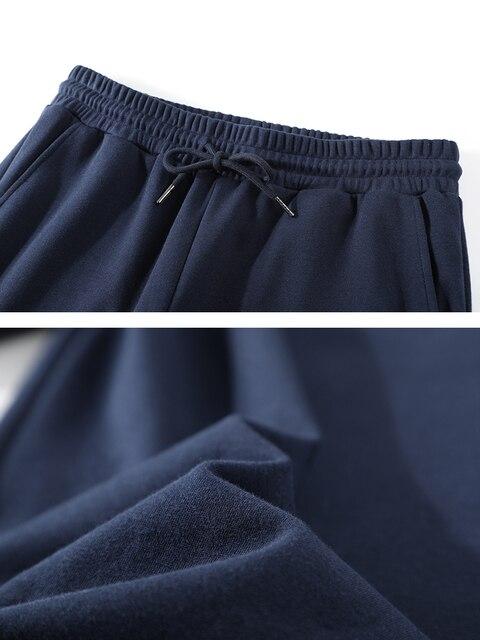 Pioneer Camp 2020 Spring New Jogger Pants Men 100%cotton Drawstring Comfortable Elastic Waist Sweatpants AZZ0107025 39