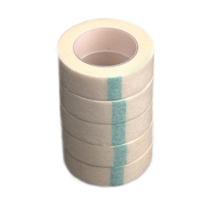 5pcs Eyelash Extension Lint Breathable Non-woven Cloth Adhesive Tape Medical Paper Tape For False Lashes Patch Makeup Tools(China)