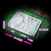 Прозрачная акриловая коробка муравей фермы кормушка декоративная