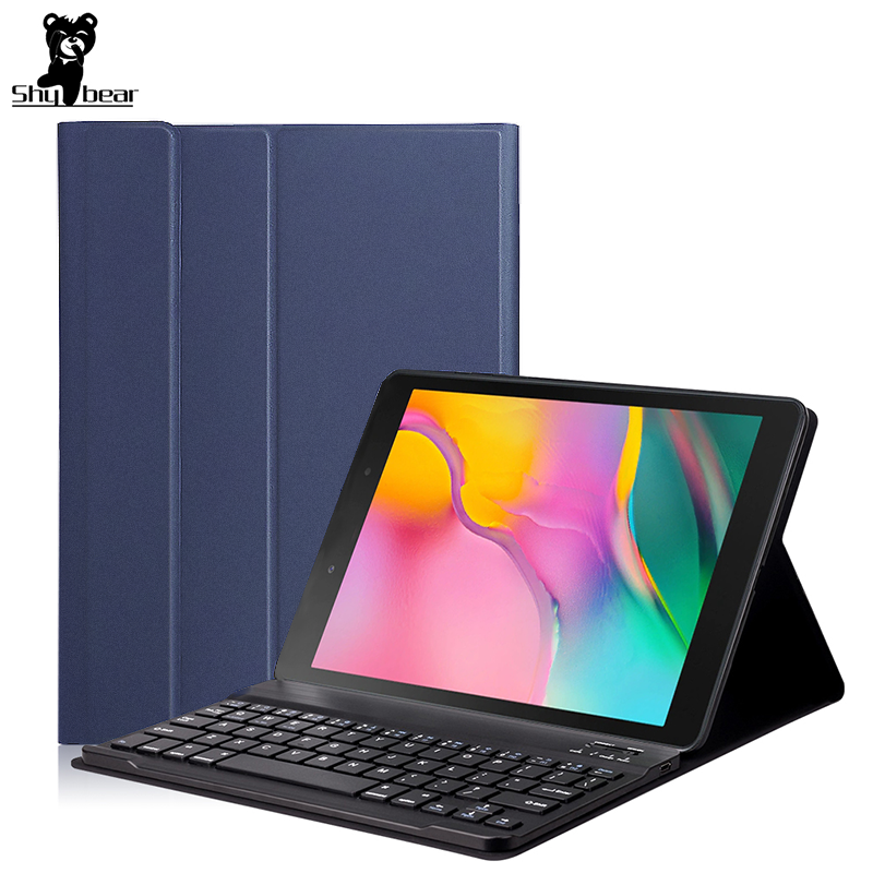 Keyboard <font><b>Case</b></font> for Samsung Galaxy Tab A 10.1 2019 Keyboard <font><b>Case</b></font> Cover for Samsung Galaxy Tab A 10.1 SM-<font><b>T510</b></font>/ T515 Tablet funda image