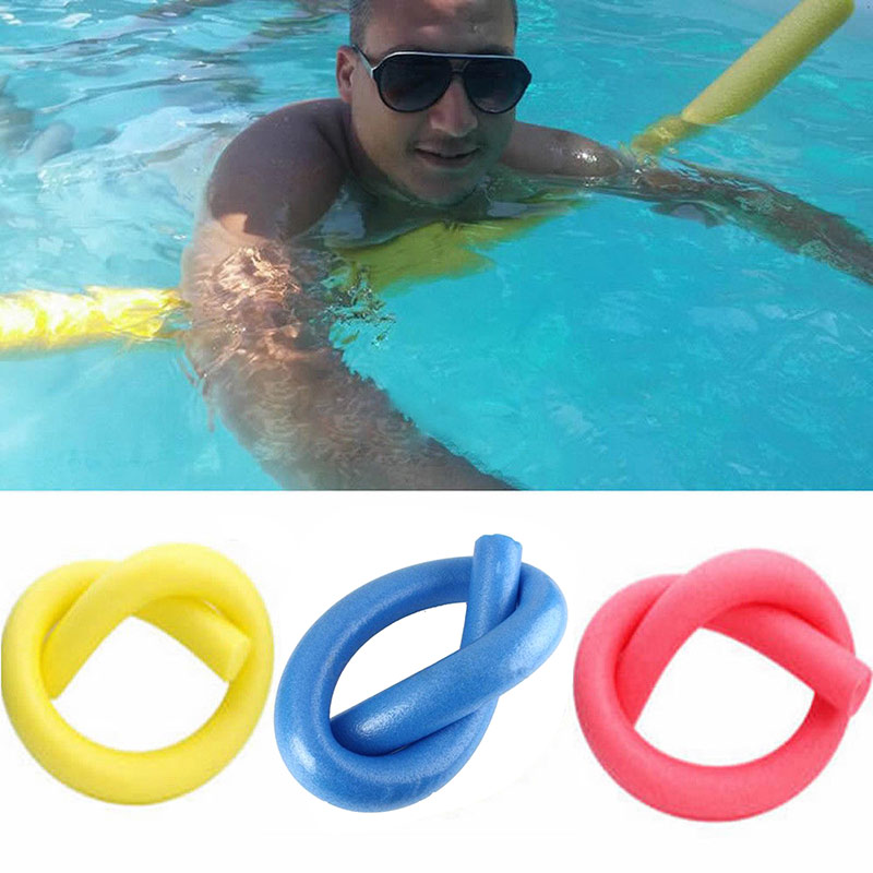 Kids Floating Kick Board Swimming Pool Noodle Solid Core Water Float Foam Supplies AN88