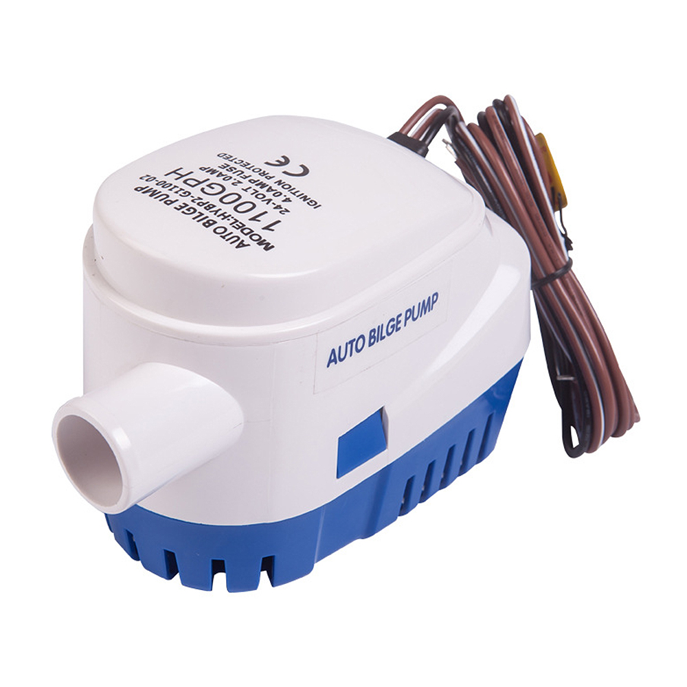 12V/24V 1100GPH Automatic Bilge Pump Water Pump Submersible Pump With Float Switch Accessories