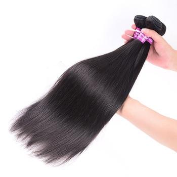 Human Hair Bundles Straight Brazilian Weave Remy Body Bundle
