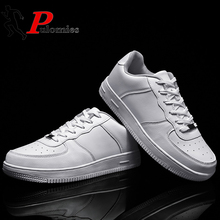 PULOMIES Summer Men Women Casual Shoes Men Sports Shoes Lace-up Platform Sneakers Flat Shoes Classic Couple Shoes Plus Size35-47 2016 plus size35 46 men