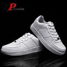 PULOMIES/Летняя мужская и женская повседневная обувь; Мужская Спортивная обувь; кроссовки на платформе со шнуровкой; обувь на плоской подошве; Классическая обувь для пары; большие Size35 47