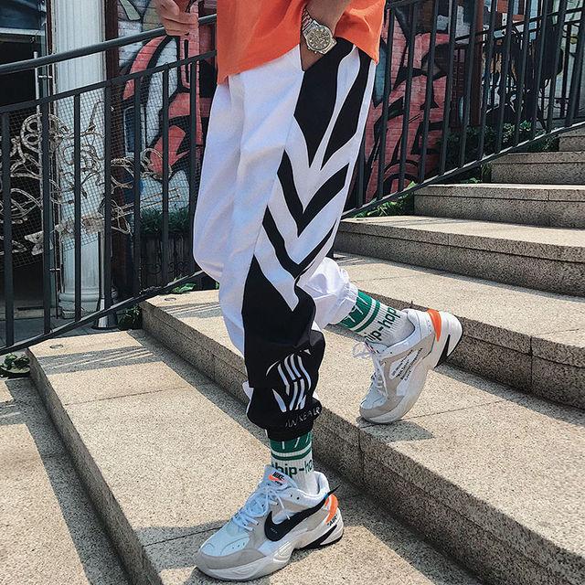 Streetwear Hip hop Joggers Pants  2