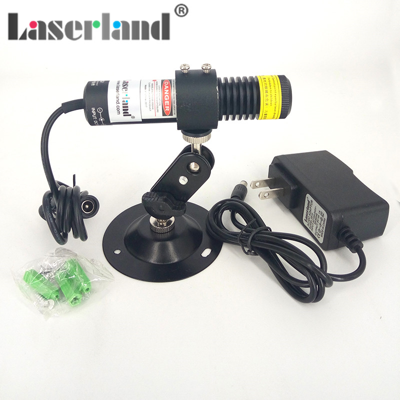 Powell Lens Line Laser Module 22*100 405nm 100mw 110° Water-proof Anti-proof IP65 Machine Vision