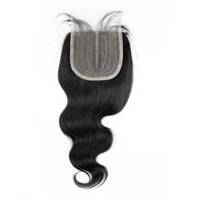 Hd fechamento do laço do cabelo humano transparente apenas onda corpo 4x1 Polegada destaque p4/27 bresilienne cheveux humain remy brasileiro ms amor