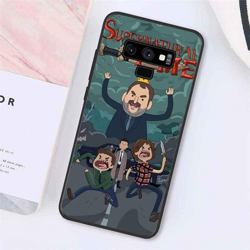 Babaite Supernatural Jared Padalecki Cassa Del Telefono per Samsung Galaxy A50 Note9 8 7 5 10 Pro J5 J6 Prime J7 duo