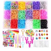 1500 шт резиновые резинок для создания плетеных браслетов в