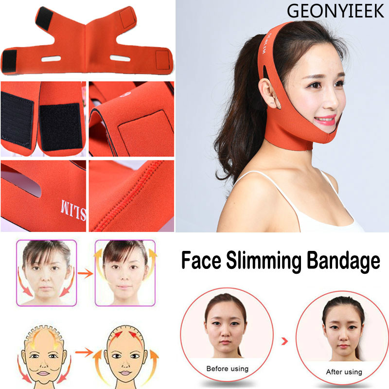 Face Bandage Belt Face Lift Tools Thin Face Mask Slimming Facial Thin Masseter Double Chin Tools Women Face Care Anti Cellulite