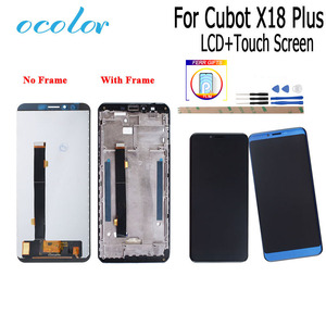 Image 1 - ocolor For Cubot X18 Plus LCD Display and Touch Screen With Frame + Film Replacement With Tools + Adhesive For Cubot X18 Plus