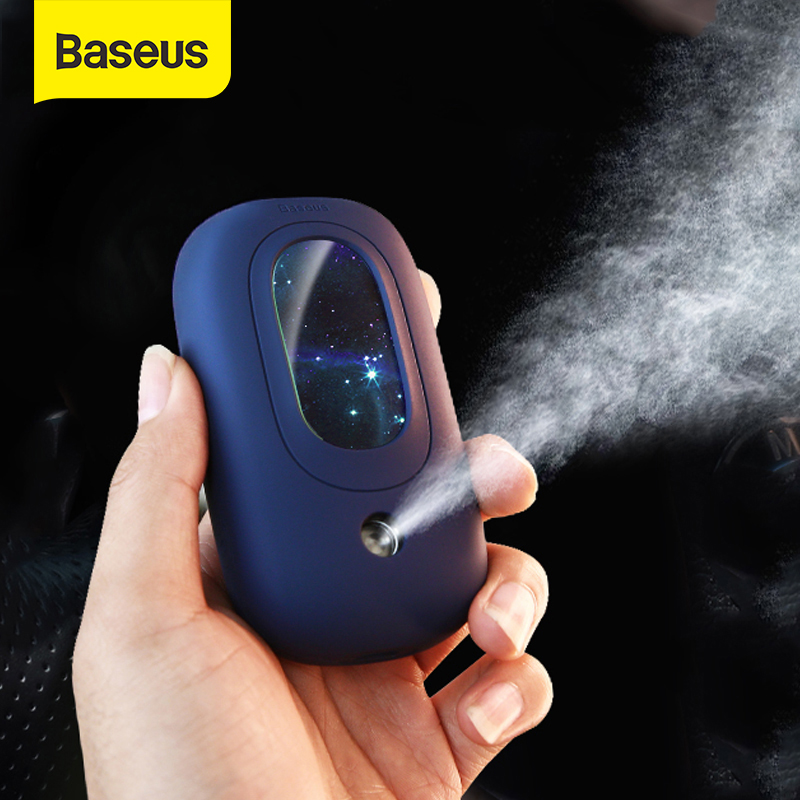 Baseus MIni Portable USB Humidifier For Home Office Car Mist Maker Mister Mini Face Humidifier Extensions Sprayer Facial Device