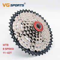 MTB cassette 8 speed 11-42T freewheel เฟือง 441g mountain จักรยาน 9S Flywheel จักรยาน freewheel cassette cog cdg xg VG กีฬา